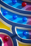 Carnival lights (close up) Royalty Free Stock Photos