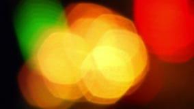 Carnival Lights 2. Vibrant Lights at a Carnival stock video