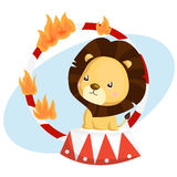 Carnival Lion Royalty Free Stock Photos