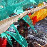 Carnival Look Stock Image
