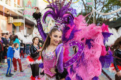 Carnival Loule Portugal. Stock Photos
