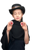 Carnival magician Stock Photo