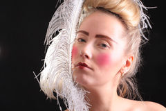 Carnival make-up Stock Image