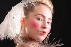 Carnival make-up Stock Photos