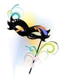 Carnival mask. Vector illustration of an elegant carnival mask Stock Photo
