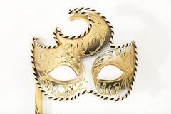 Carnival mask. On a white background
