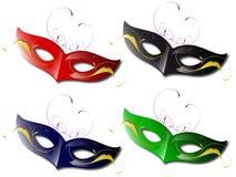 Carnival mask. Isolated on white background Stock Image