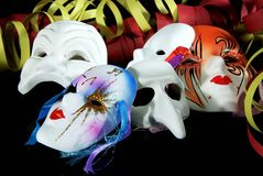 Carnival mask. Some original venetian carnival masks Royalty Free Stock Photo