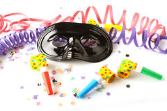 Carnival mask. On white background Stock Photography