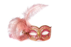 Carnival mask. Isolated over white