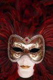 Carnival mask. Close up of a carnival mask in Venice Stock Photo