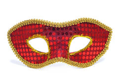 Carnival mask. A carnival mask on a white background Stock Photography