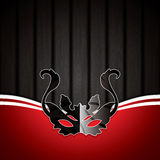 Carnival mask background Royalty Free Stock Image