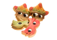 Carnival mask biscuits Royalty Free Stock Photos