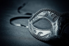 Mask. Carnival mask on a black background royalty free stock images