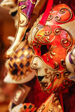 Carnival mask. Of the clown for sale on the street of Venice Royalty Free Stock Photo