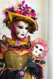Carnival mask. A colored carnival mask in Venice Stock Photo
