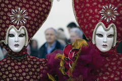 Carnival mask and costumes Royalty Free Stock Image