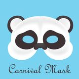 Carnival mask 3d models. Colors edition Royalty Free Stock Photo