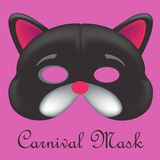 Carnival mask 3d models. Colors edition Stock Photo