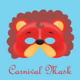 Carnival mask 3d models. Colors edition Stock Photos