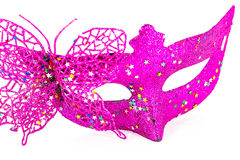 Carnival mask decorated Stock Images