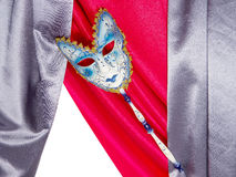 Carnival mask and fun Royalty Free Stock Photography