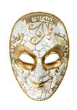 Carnival mask harlequin isolated on white background Stock Photography