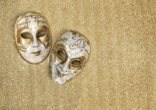 Carnival mask harlequin. Mardi gras. Holidays background Stock Photo