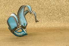 Carnival mask harlequin. Mardi gras. Holidays background Royalty Free Stock Photo