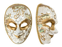 Carnival mask harlequin. Mardi gras. Holidays decoration Stock Photos