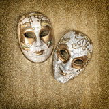 Carnival mask harlequin. Mardi gras holidays. Vintage style Stock Photography