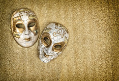 Carnival mask harlequin. Mardi gras. Vintage style Stock Image