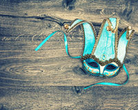 Carnival mask harlequin. Symbol of venetian mask festival Royalty Free Stock Photography