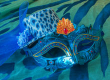 Carnival mask and hat Royalty Free Stock Photography