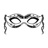 Carnival mask icon Royalty Free Stock Photo