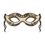 Carnival mask icon Royalty Free Stock Images