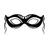 Carnival mask icon Royalty Free Stock Photography