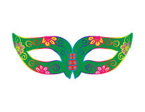 Carnival mask. Illustration of a Festive Carnival Stock Photos