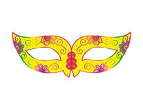 Carnival mask. Illustration of a Festive Carnival Stock Images