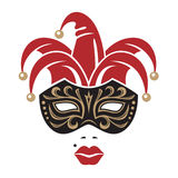 Carnival mask image Stock Photos