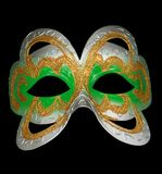 Carnival mask isolated on black Royalty Free Stock Photo