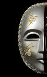Carnival mask isolated on black Stock Photo