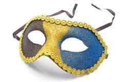 Carnival mask. Isolated on white stock photo