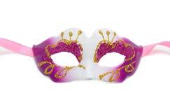 Carnival Mask Isolated On White Background Stock Image