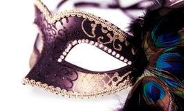 Carnival mask isolated Stock Photo