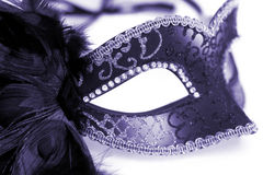 Carnival mask isolated on white Royalty Free Stock Images