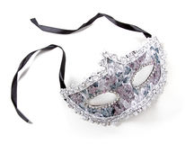 Carnival mask isolated on white Stock Images