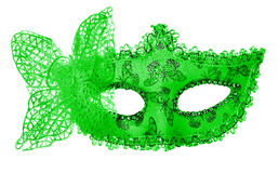 Carnival mask. Isolated on white Stock Photography