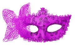 Carnival mask. Isolated on white Royalty Free Stock Photo